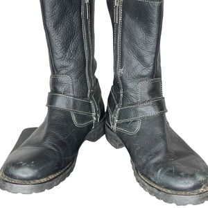 Harley Davidson Black Boots as is